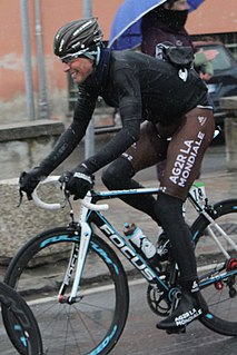 Matteo Montaguti Italian road and track cyclist