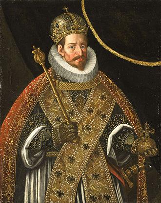 Matthias, Holy Roman Emperor - Image: Matthias Holy Roman Emperor (Hans von Aachen, 1625)