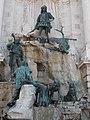 Matthias Fountain by Alajos Stróbl. Left. - Budapest.JPG