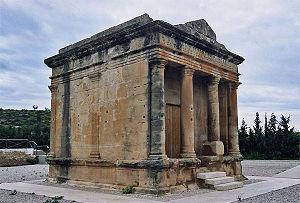 Roman mausoleum of Fabara - The Roman mausoleum of Fabara