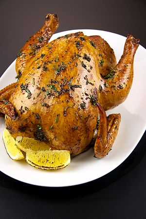Roasting - Whole roast chicken