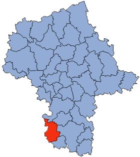 Localisation de District de Przysucha