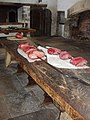 Meat on the spit display, Hampton Court kitchens - geograph.org.uk - 745315.jpg