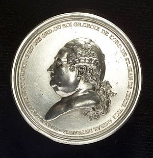 Augustin Dupré - Medal in silver commissioned from Dupré and issued in 1784 by the American republic to honor Admiral Suffren