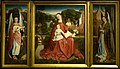 Meester van het geborduurd gebladerte - Maagd met kind en musicerende engelen (ca.1490) - Palais des Beaux Arts de Lille 25-11-2010 15-42-37.jpg