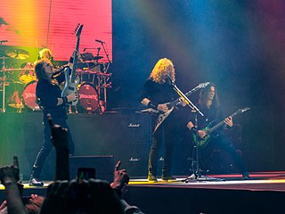 Megadeth American heavy metal band