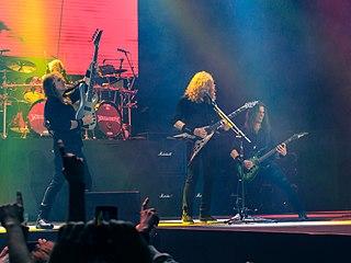 Megadeth American Thrash Metal band