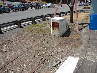 Melling railway station - End of the line