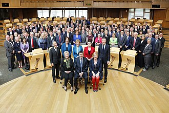 5th Scottish Parliament - Members elected to the Scottish Parliament on 5 May 2016