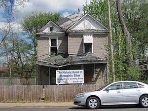 Memphis Slim - Memphis Slim historic home in Memphis