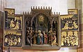 Meran Spitalkirche Altar Franz Pendl Flügel von Lederer.jpg