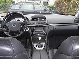Mercedes-Benz E-Class (W211) - Pre-facelift interior