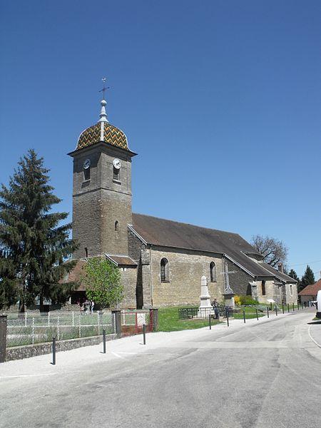 Église Saint-Martin de Mercey-le-Grand, Doubs, France