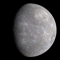 Full color image of Mercury, from first MESSENGER flyby. Image: NASA/JPL.
