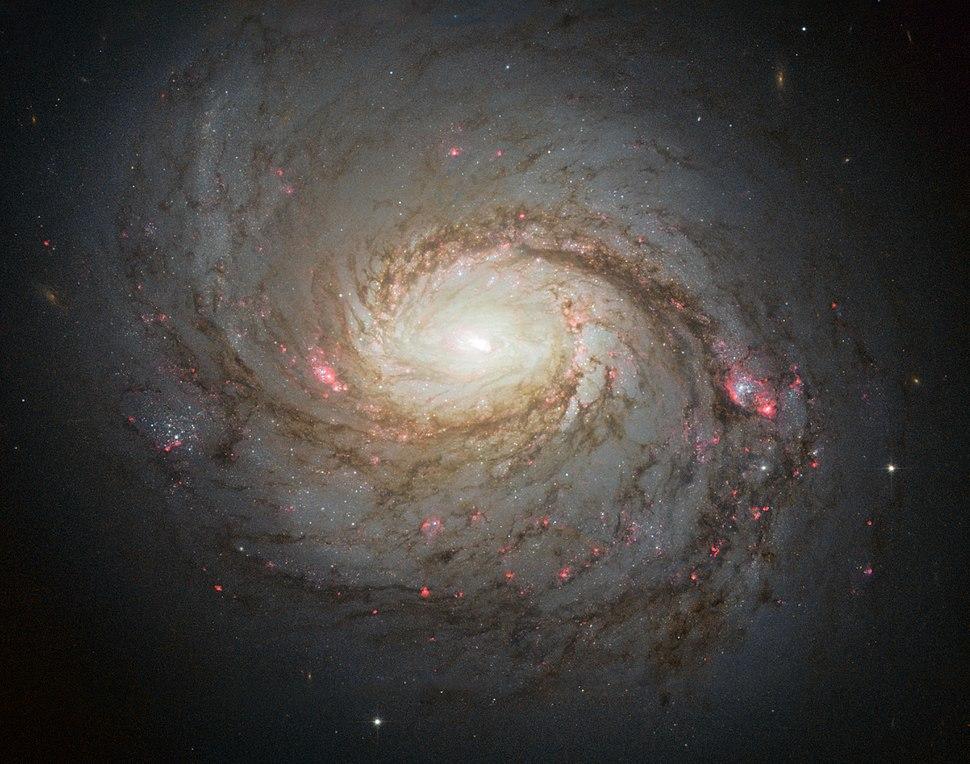 Messier 77 spiral galaxy by HST