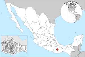Mexico location of Oaxaca.svg
