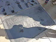 Michael Jackson's Hand and foot prints.jpg