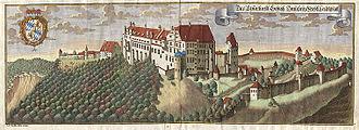 Trausnitz Castle - Trausnitz by Michael Wening (1645–1718).