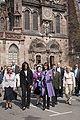 Michelle Obama at Notre-Dame de Strasbourg 4-4-09 2.jpg