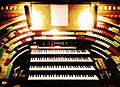 Mighty Mo (opus 5566, built in 1929) console front - Fox Theatre, Atlanta (2015-08-13 21.03.36 by Counse) edit1.jpg