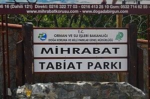 Mihrabat Nature Park - Image: Mihrabat Nature Park