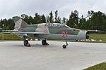 Mikoyan-Gurevich MiG-21UM '21 red' (38123405091).jpg