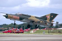 Mikoyan-Gurevich MiG-21bis, Hungary - Air Force AN0740836.jpg
