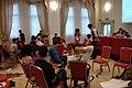 Milán, Chapters Conference 2013, diskuzní kroužek.jpg
