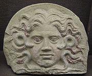 Gorgonina glava, 3. stoljeće p.n.e., Milano