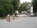 Millennium Memorial Park in Sarbogard, 2016 Hungary.jpg