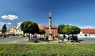 Mimoň Town in Liberec, Czech Republic