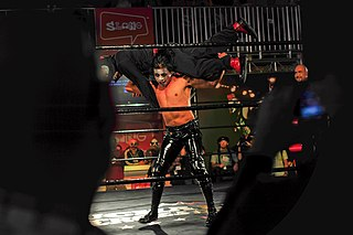 Mini Charly Manson Mexican professional wrestler