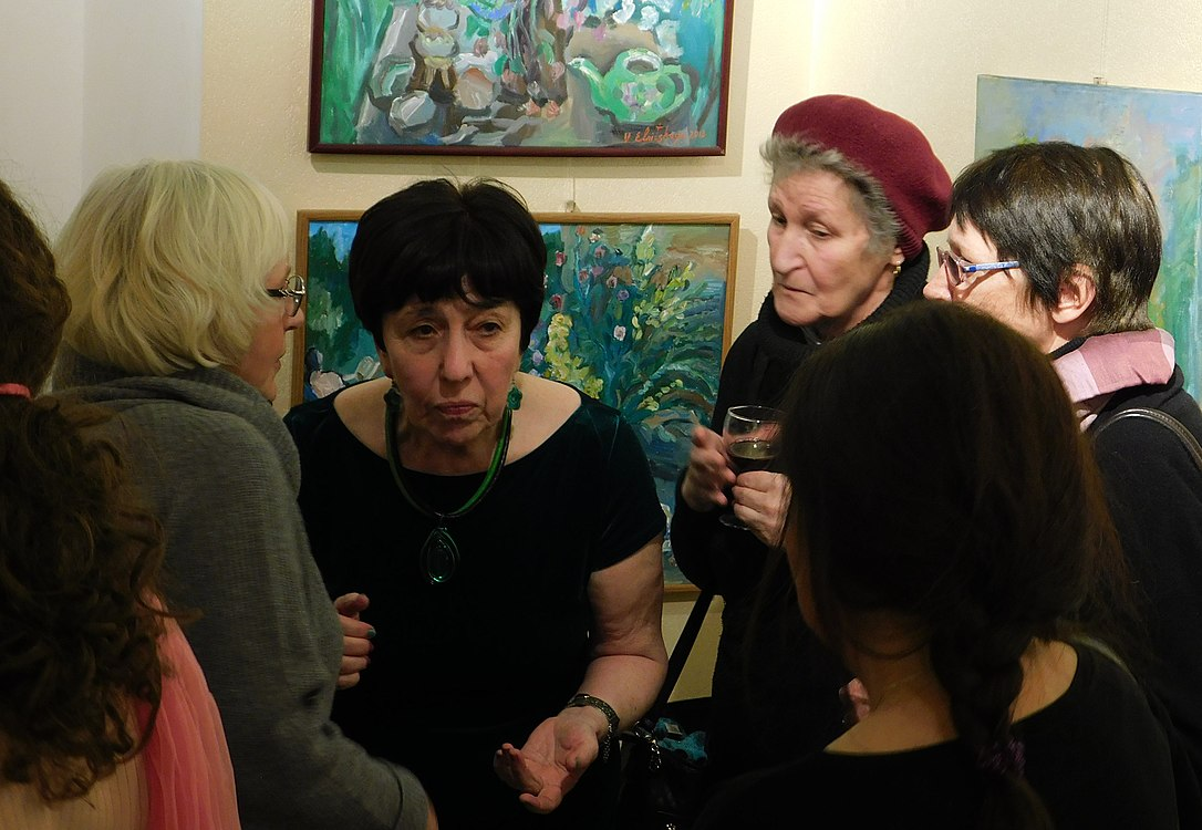 Minima gallery opening (Green collisions; 2018-12-01) 49.jpg