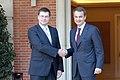 Ministru prezidents Valdis Dombrovskis tikās ar Spānijas valdības prezidentu Hosē Rodrigesu Sapatero (4138504420).jpg