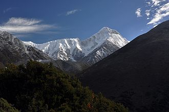 Hengduan Mountains - Mount Gongga, the tallest summit in the Hengduan Mountains