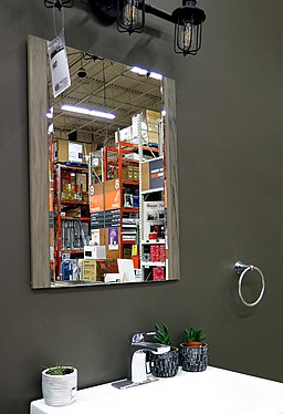 Mirror at Home Depot, Los Angeles, California.jpg