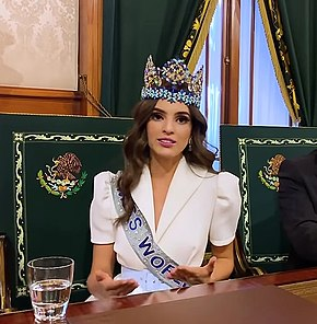 Miss Mexico, Vanessa Ponce in 2018.jpg