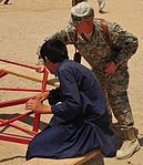 Mississippi Army National Guard soldiers donate backpacks and school supplies to Afghan children DVIDS424505.jpg