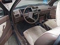 Px Mitsubishi Colt C Glx Automatik Innenraum on 1986 Dodge Raider