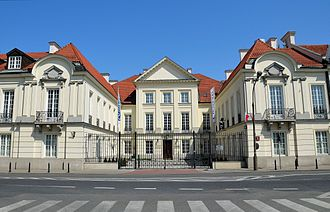 Office for Democratic Institutions and Human Rights - Młodziejowski Palace in Warsaw, the seat of ODIHR