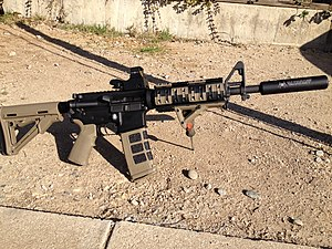 Magpul Industries - Modified AR-15 with Magpul accessories