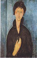 Modigliani - Die Frau mit blauen Augen.jpeg