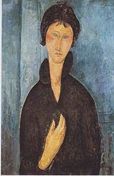 Amedeo Modigliani: Femme aux yeux bleus