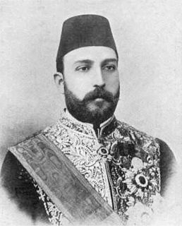 Tewfik Pasha Khedive of Egypt and Sudan