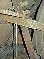 Molen Kerkhovense molen, kap bovenwiel pal (2).jpg