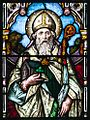 Monaghan Saint Macartan's Cathedral Window Patrons of Ireland Detail Saint Patrick 2013 09 21.jpg