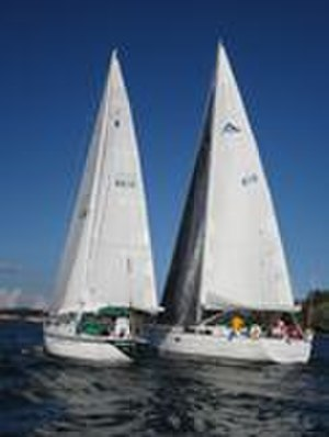 Island Yacht Club - Organized social activities including sailboat racing.