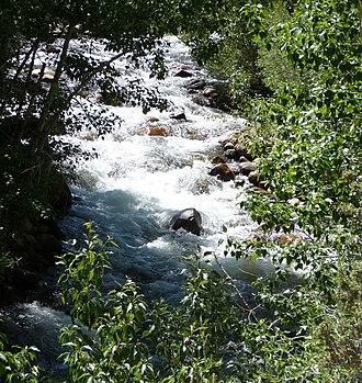 Lee Vining Creek - Lee Vining Creek near Mono Lake