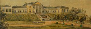 Nicolay (family) - Mon Repos Manor House circa 1830
