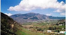Il monte Penice da Bobbio